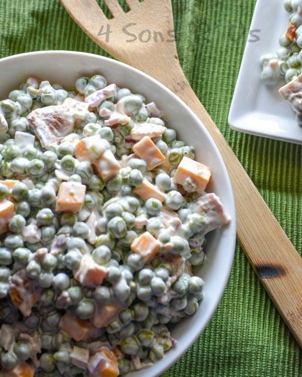 Crunchy Pea & Bacon Salad