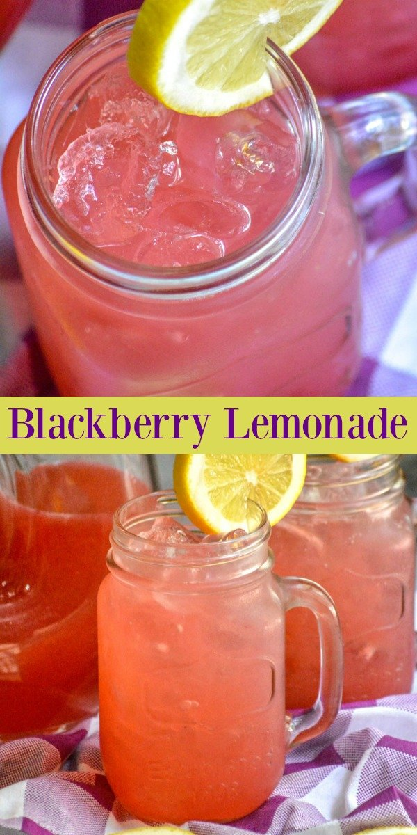 When the Southern heat descends, there's nothing better than a cool drink to find some respite. This quick & easy Blackberry Lemonade is the best, most refreshing way, to cool off & quench your thirst.