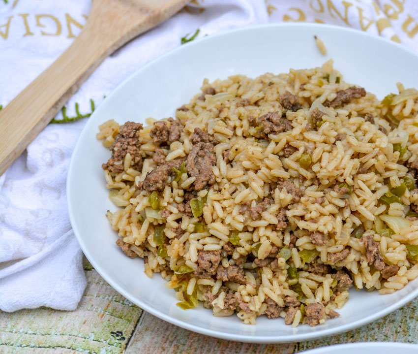 one pot dirty rice