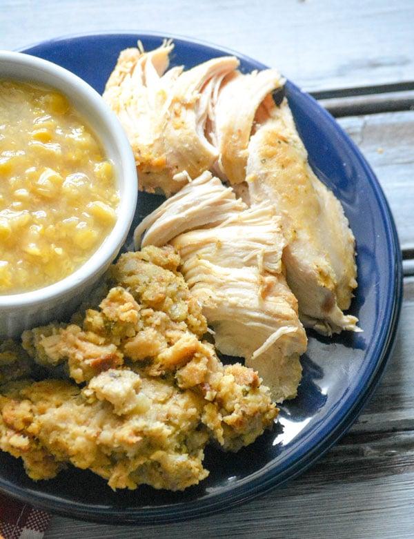 One Dish Chicken & Stuffing