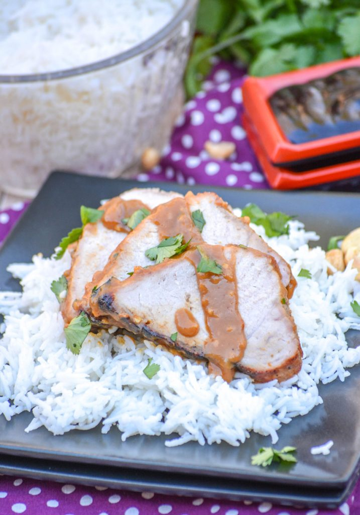 Thai Peanut Pork Tenderloin