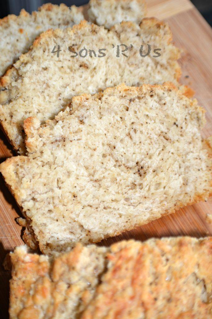 Black Pepper & Parmesan Beer Bread