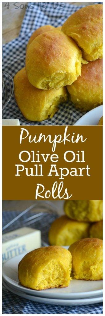 Pumpkin & Olive Oil Pull Apart Rolls - 4 Sons 'R' Us