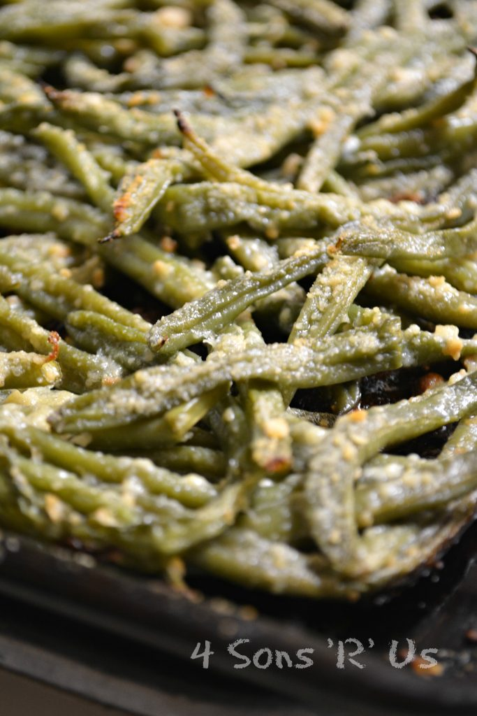 Crispy, Oven Baked Green Bean Fries - 4 Sons 'R' Us