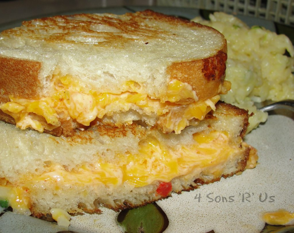 Grilled Pimento Cheese Sandwich 2