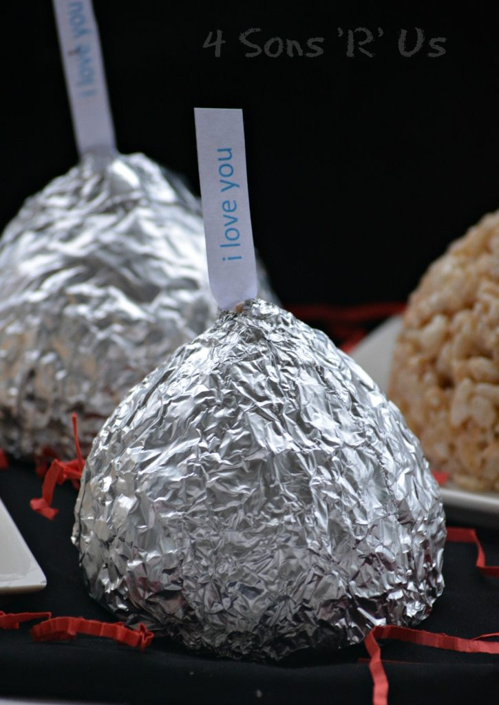 Hershey's Kiss Shaped Rice Krispie Treats