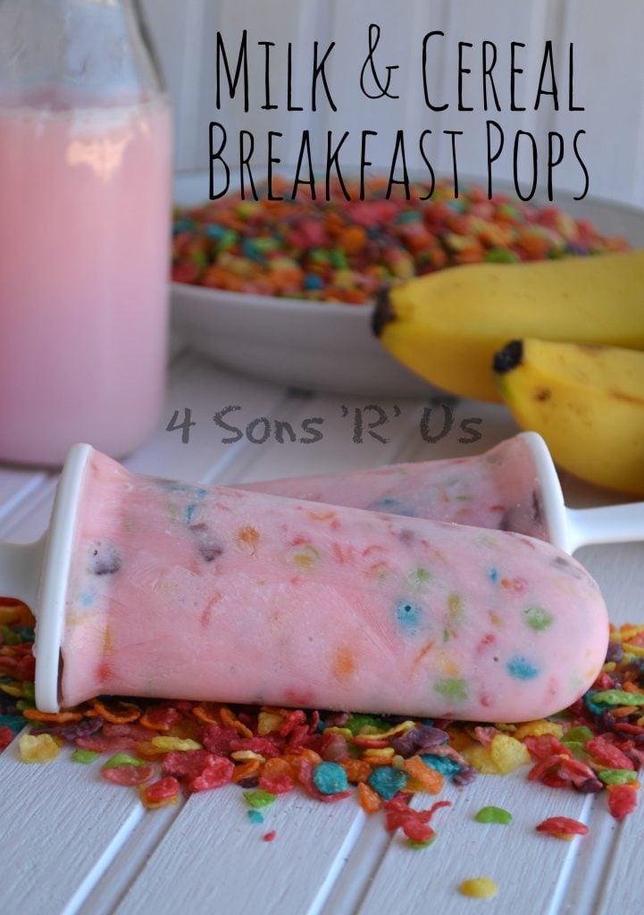 Milk & Cereal Breakfast Pops 2