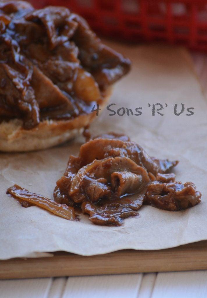15 Minute, Skillet BBQ Beef Sandwiches