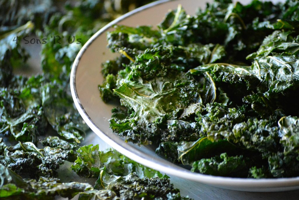 Black Pepper & Parmesan Kale Chips