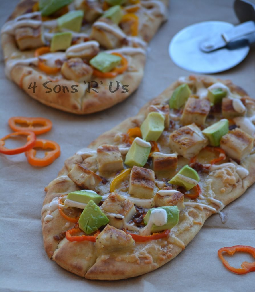 California Chicken Flatbreads 2