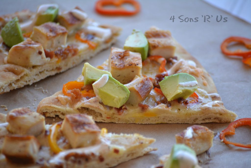 California Chicken Flatbreads 3