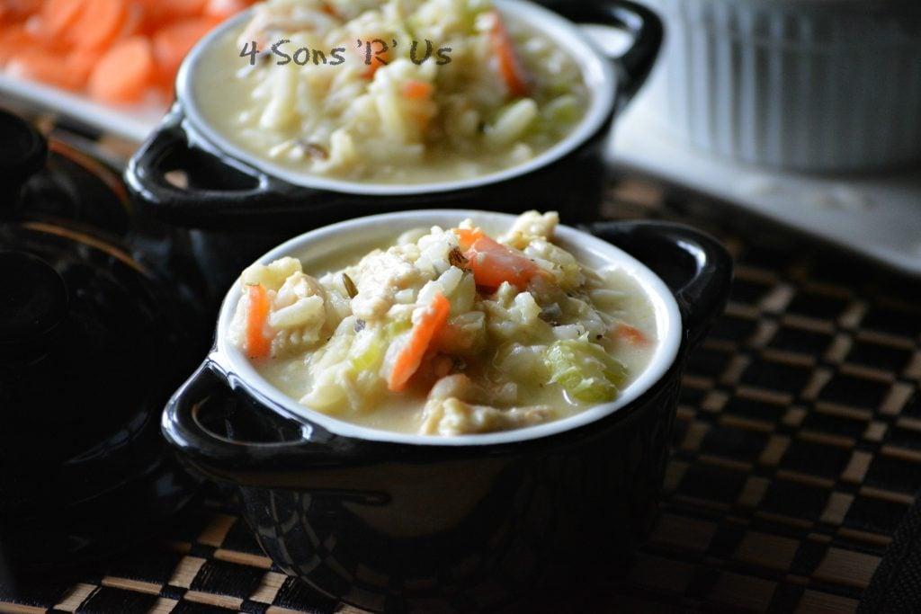 Copy Cat Panera Bread Creamy Chicken & Wild Rice Soup