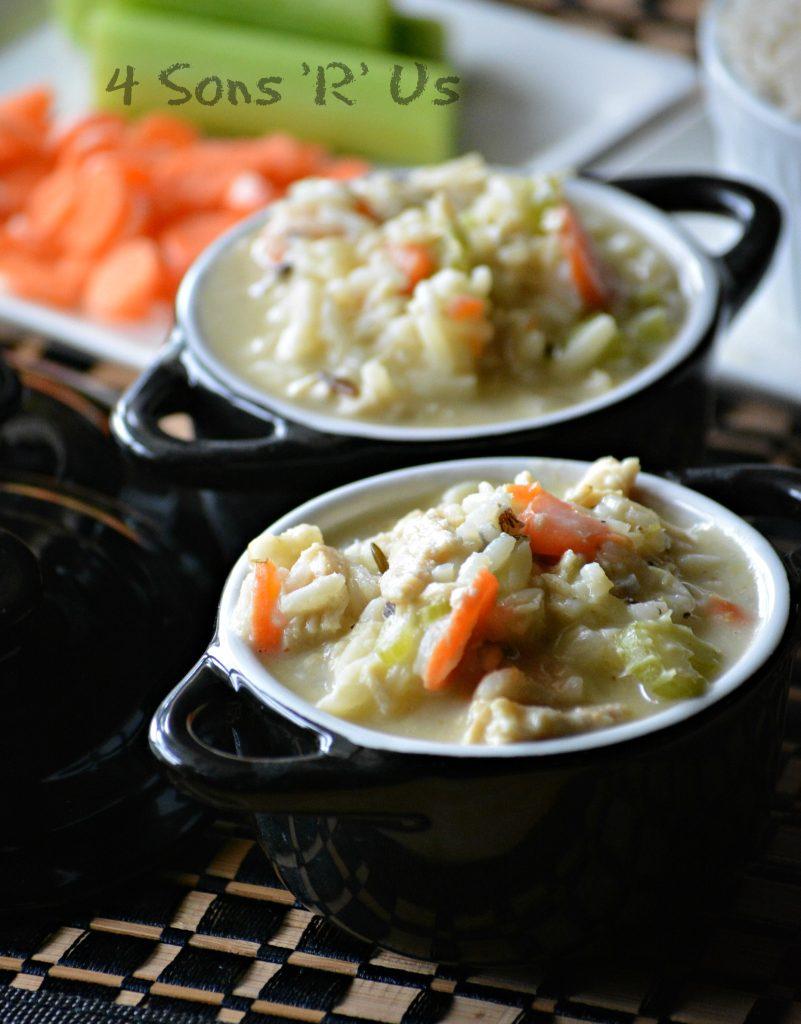 Copy Cat Panera Bread Creamy Chicken & Wild Rice Soup 2