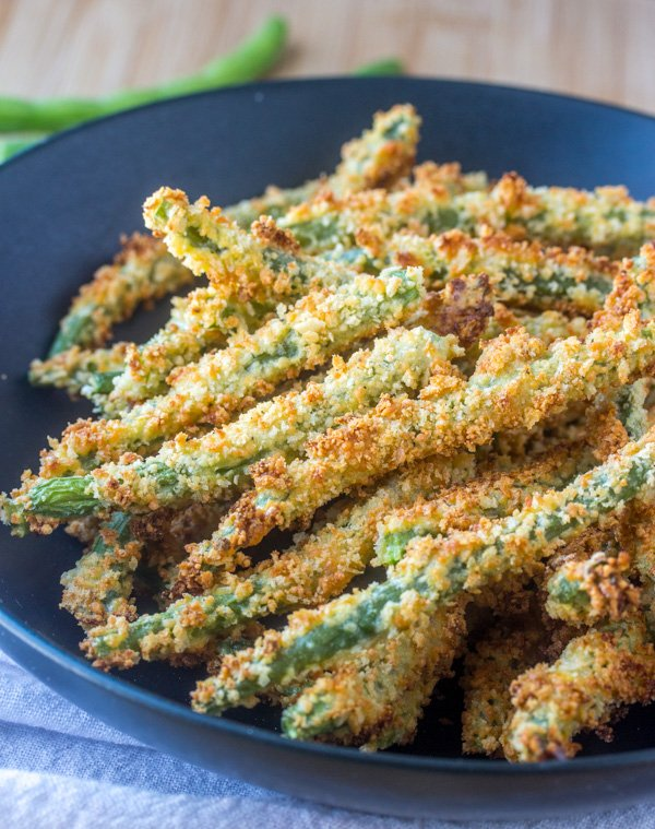 Crispy, Oven Baked Green Bean Fries