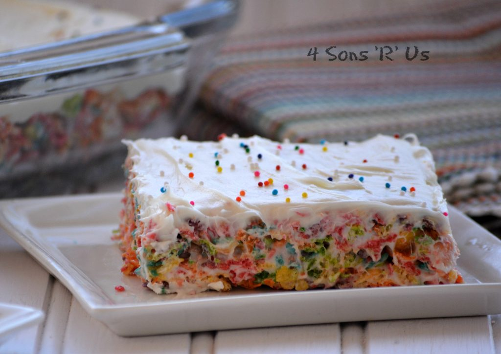 Rainbow Krispy Treats