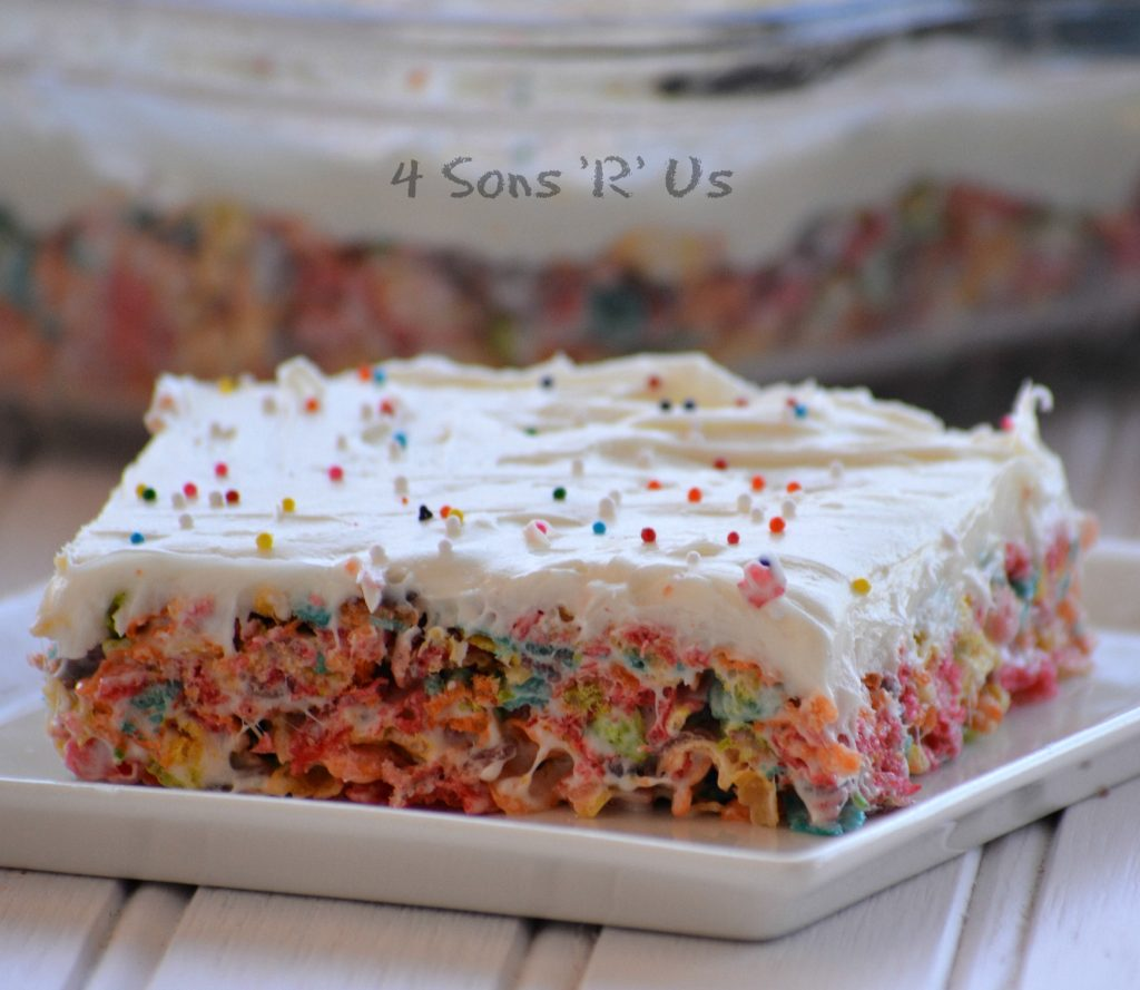 Rainbow Krispy Treats 2