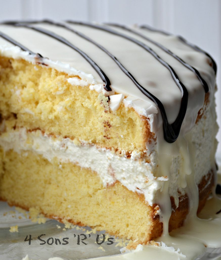 Copy Cat Hostess' Zebra Cake 5