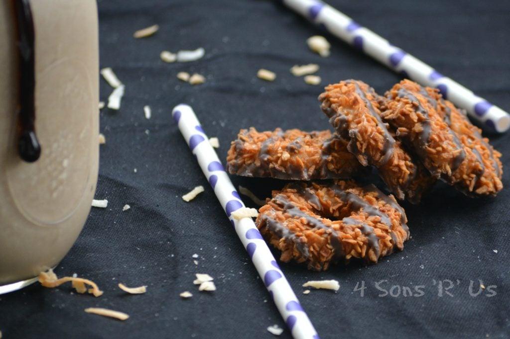Samoa Cookie Milkshake 4