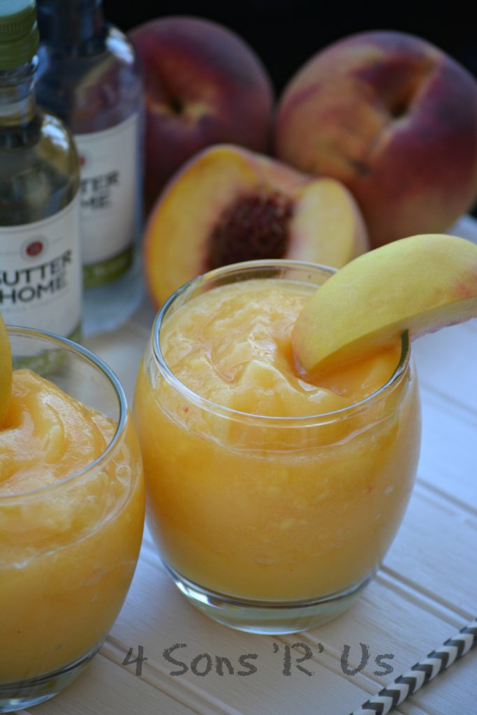 Peach White Wine Slushies 2