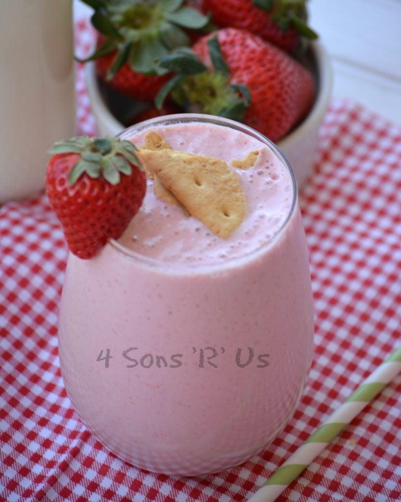Strawberry Cheesecake Protein Shake 2