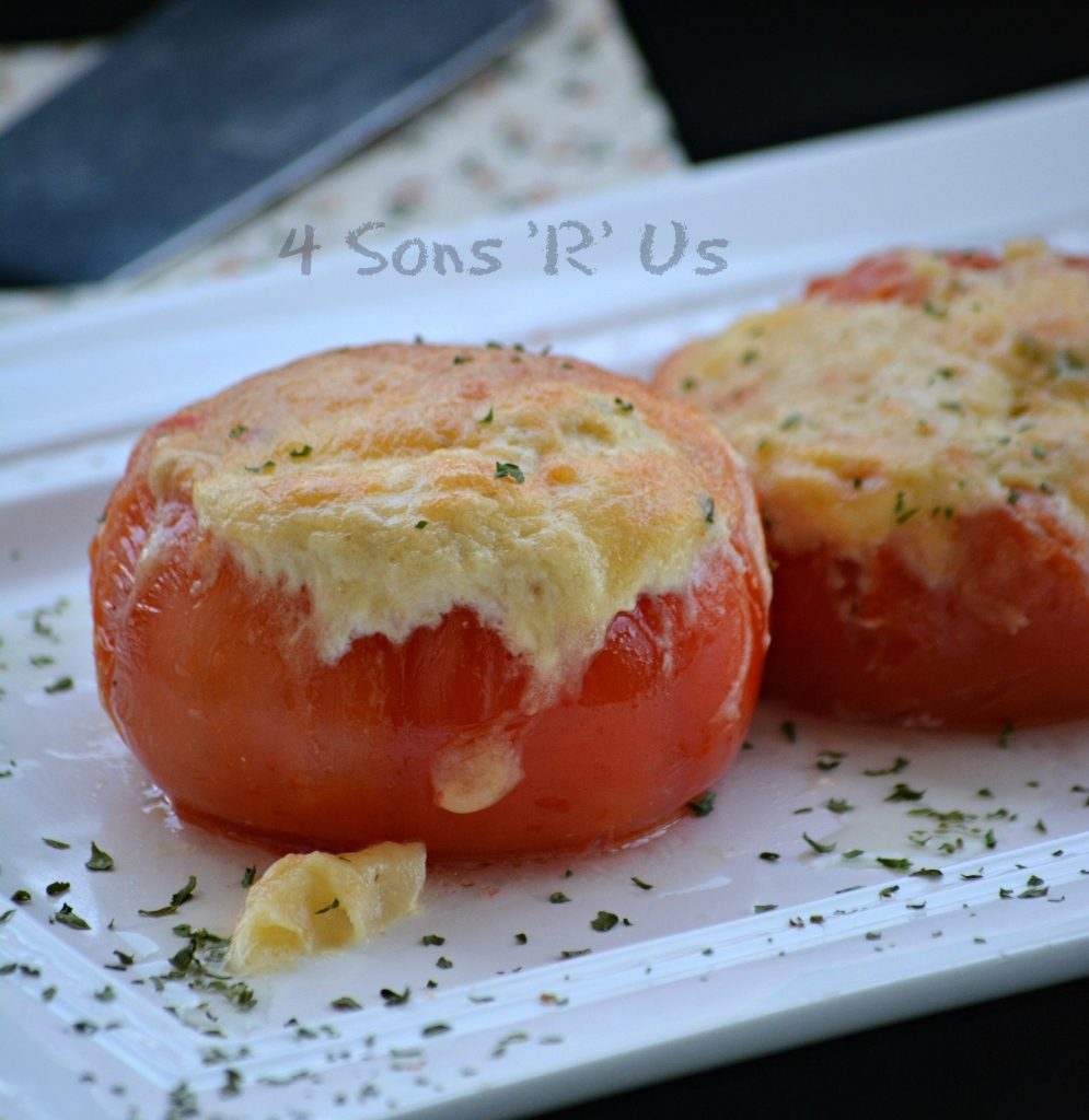Stuffed Tuna Melt Tomatoes 2