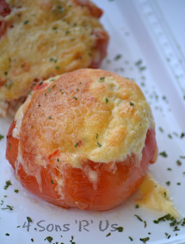 Stuffed Tuna Melt Tomatoes