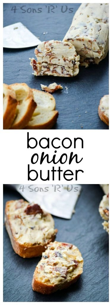 Bacon Onion Butter Collage