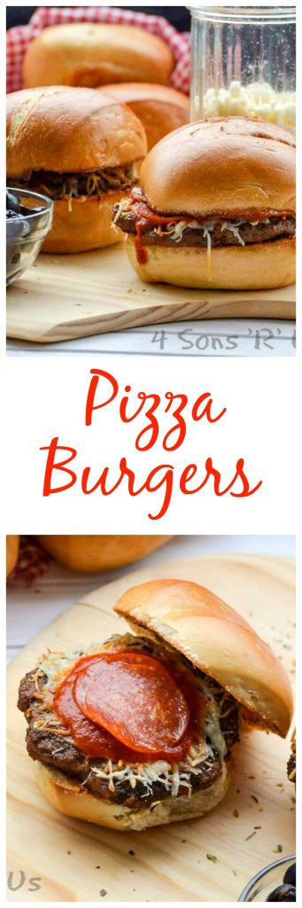 Pizza Burgers Collage 2
