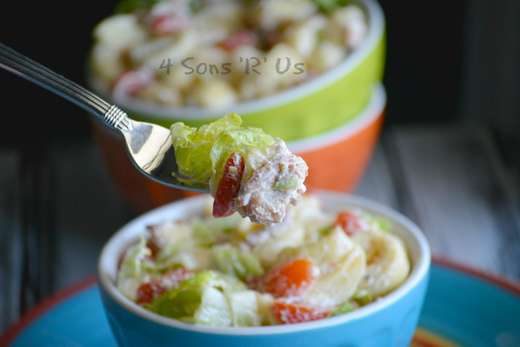 BLT Tortellini Salad