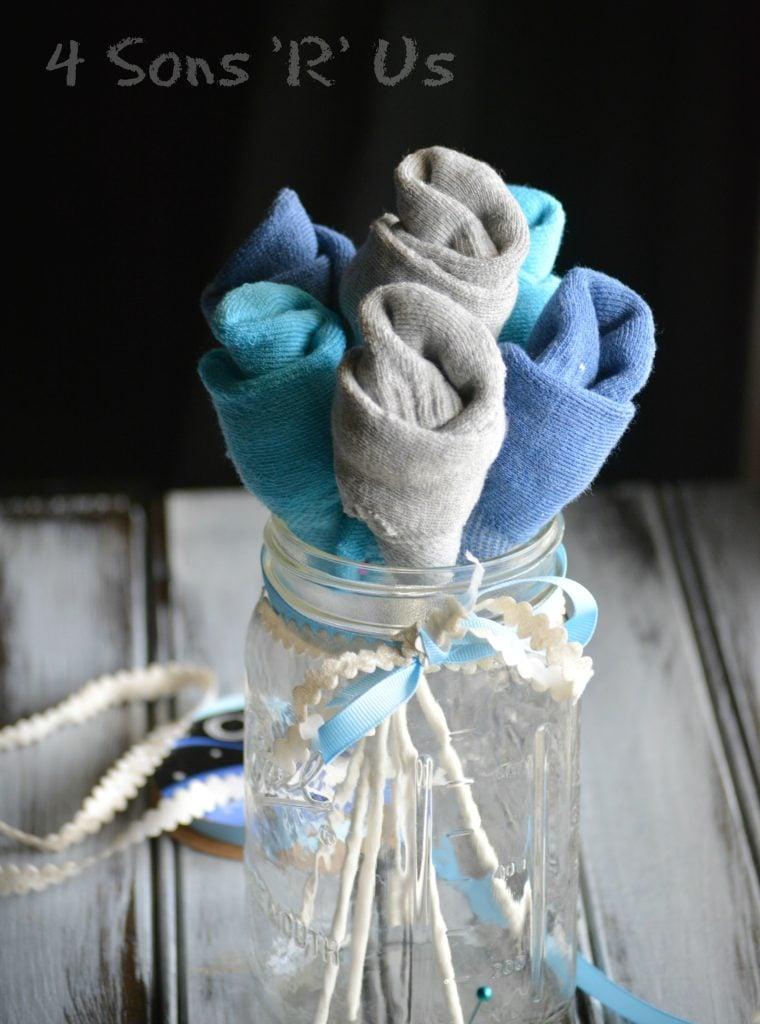 Sock Bouquet 4