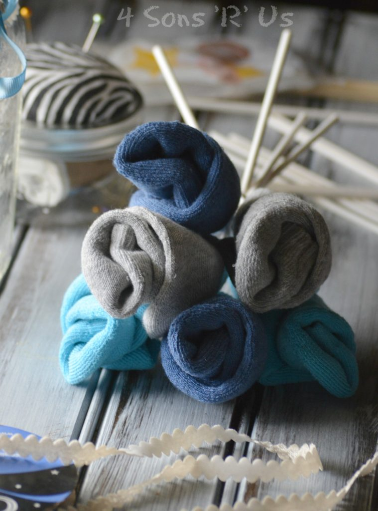 Sock Bouquet