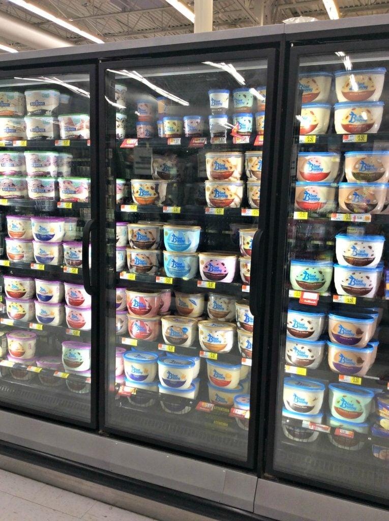 Blue Bunny Ice Cream In Store