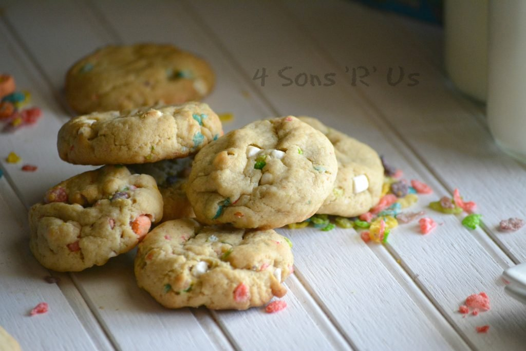 Marshmallow Fruity Pebble Crunch Brown Butter Cookies 2