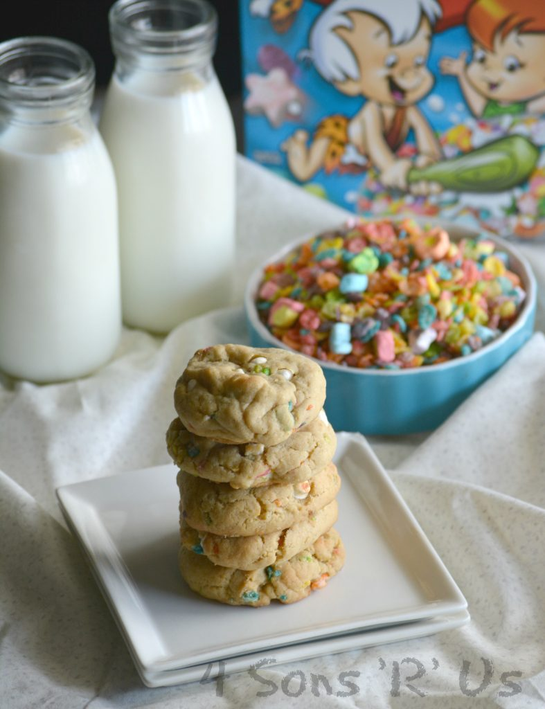 Marshmallow Fruity Pebble Crunch Brown Butter Cookies 6