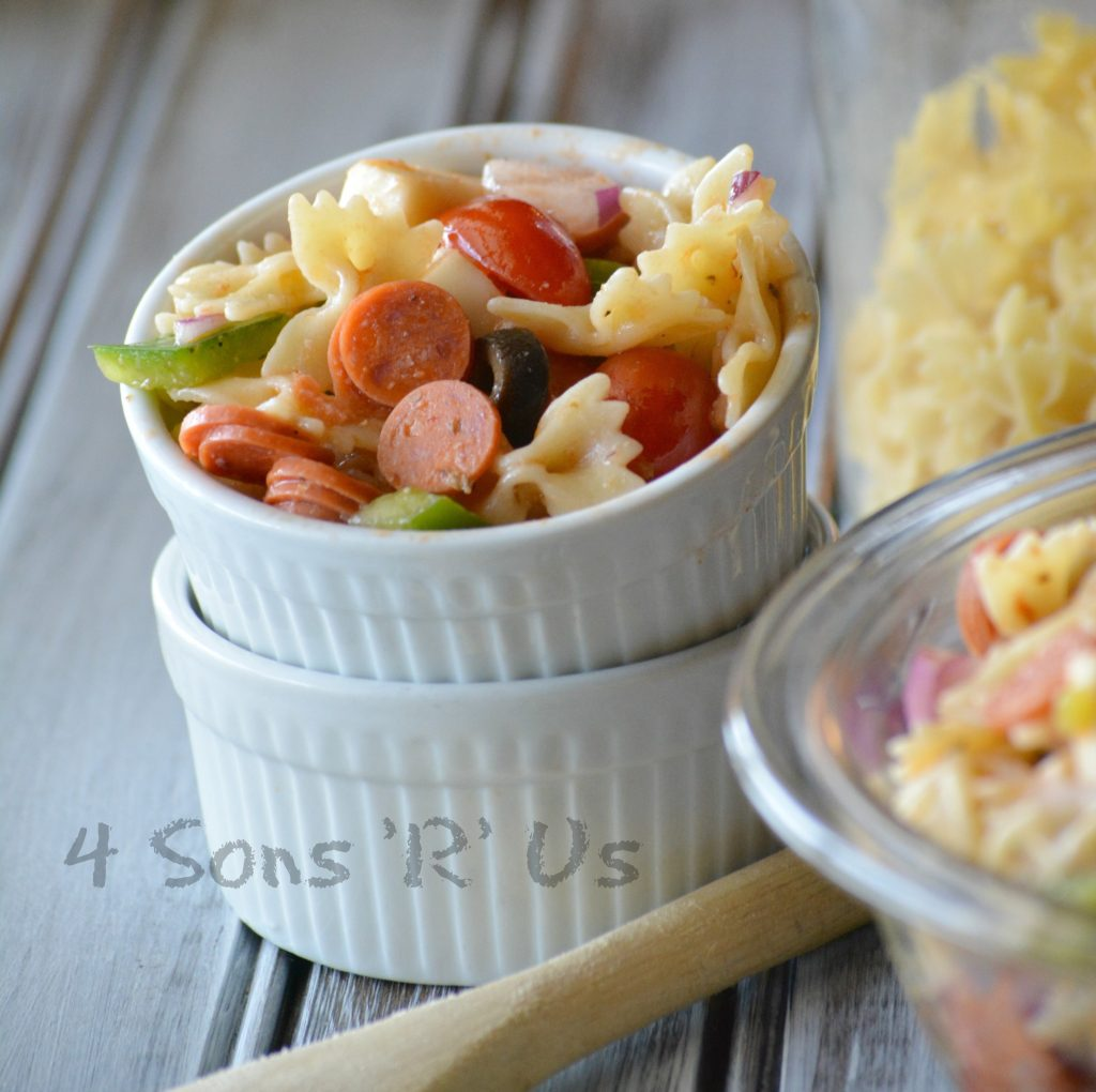 Pizza Pasta Salad 3