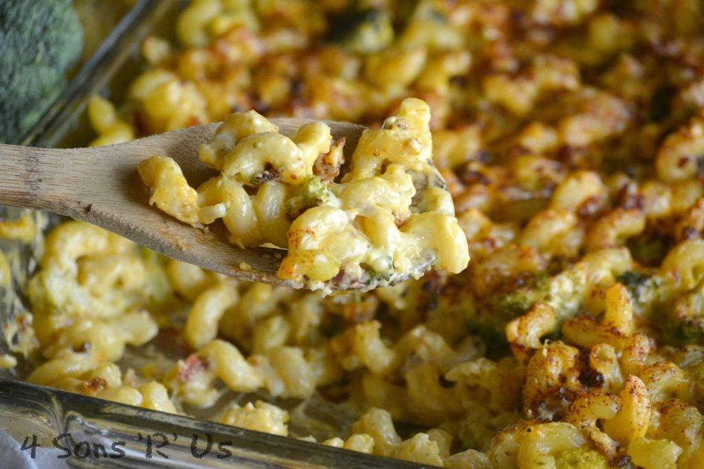 Smoky Bacon Broccoli Cheddar Mac & Cheese - 4 Sons 'R' Us