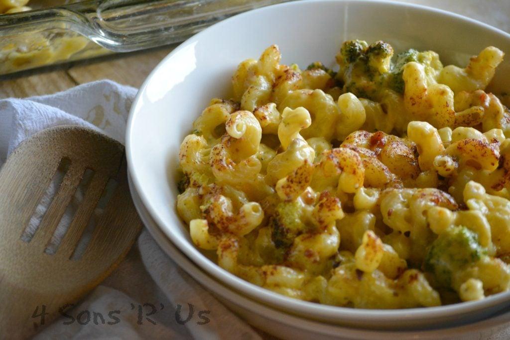 Smoked Bacon Broccoli Cheddar Mac & Cheese 2