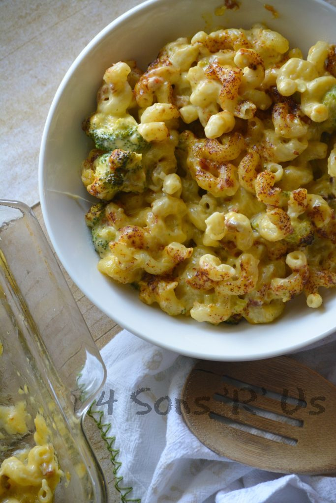 Smoked Bacon Broccoli Cheddar Mac & Cheese 4