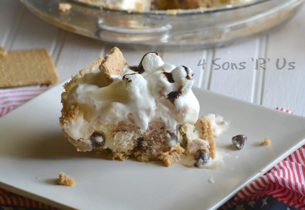 S'mores Ice Cream Pie 5