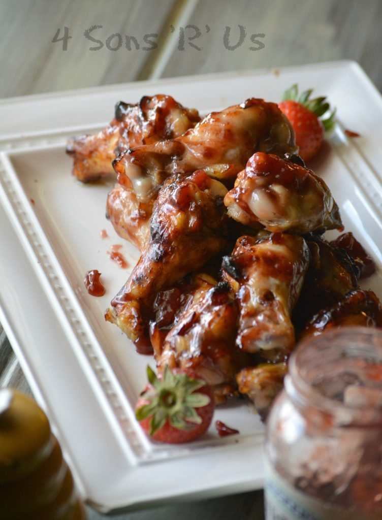 Strawberry Jalapeno Chicken Wings 4