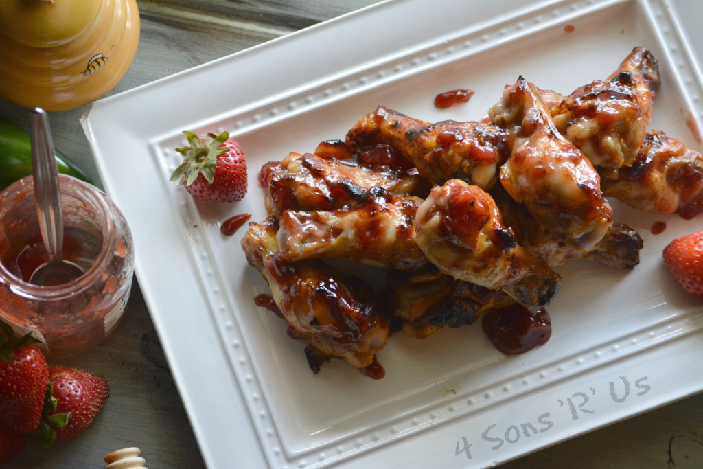 Strawberry Jalapeno Chicken Wings 5