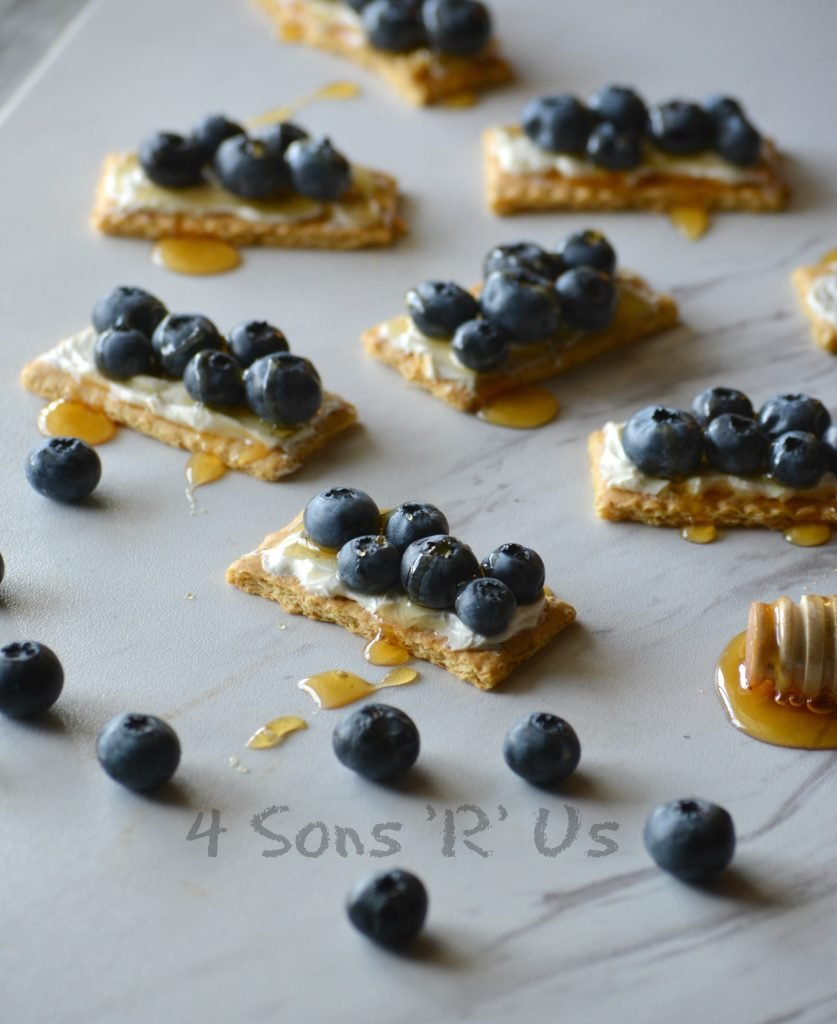 Blueberry Cheesecake Snack Bites 3