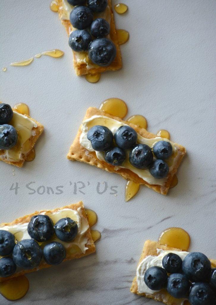 Blueberry Cheesecake Snack Bites 4