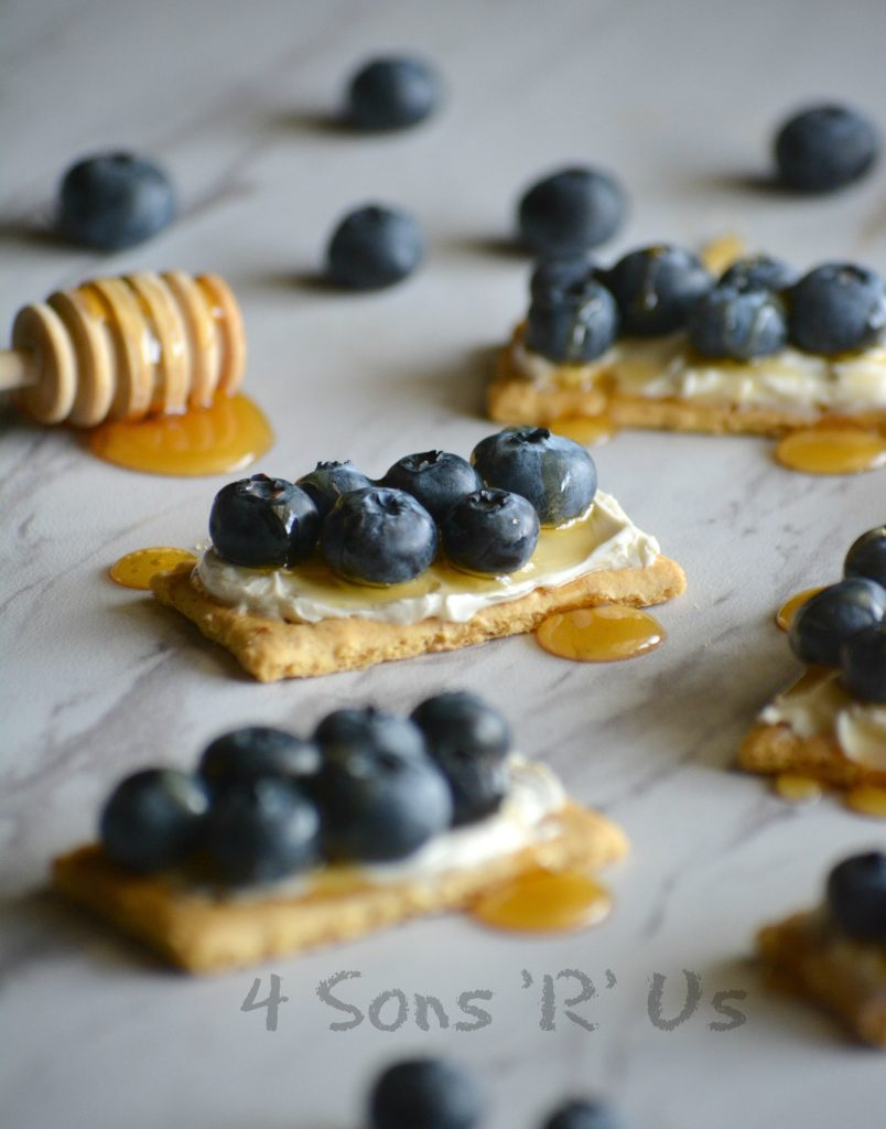 Blueberry Cheesecake Snack Bites 5