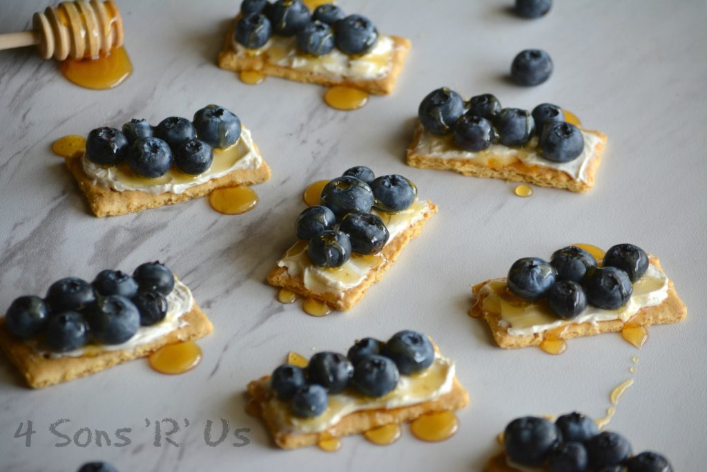 Blueberry Cheesecake Snack Bites 6