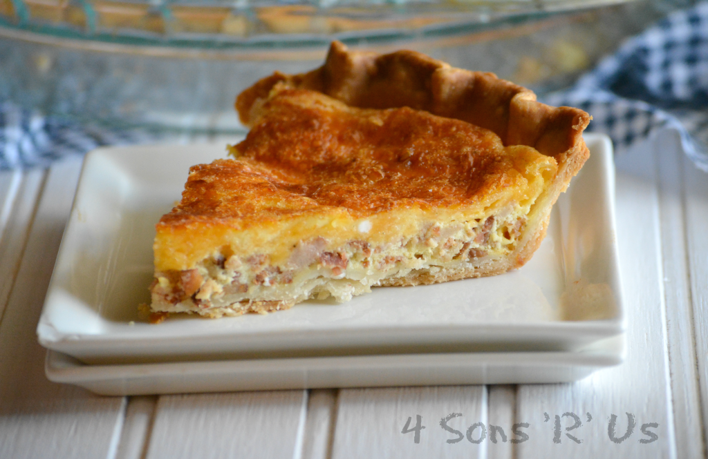 Cheddar, Bacon, Ranch Quiche