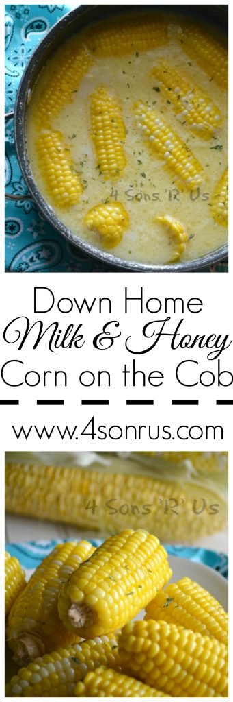 Down Home Milk & Honey Corn On The Cob