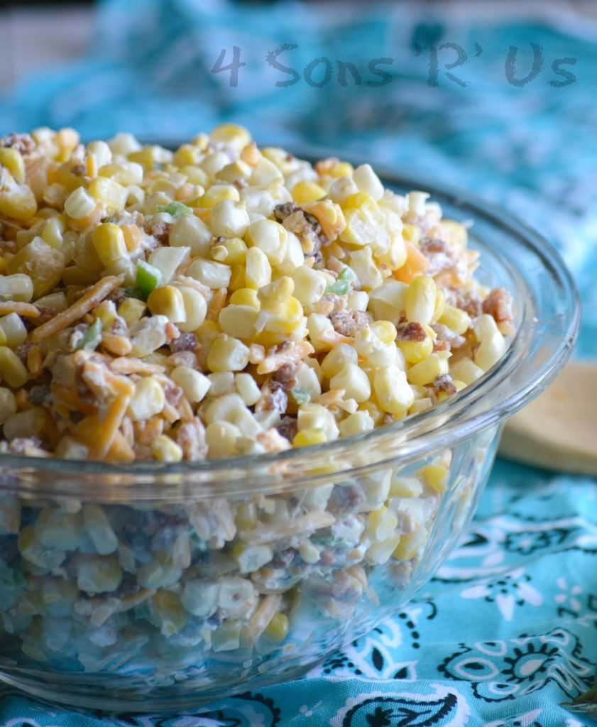 Jalapeno Popper Corn Salad Recipe