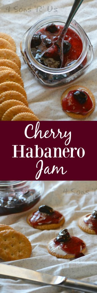 Cherry Habanero Jam Pin