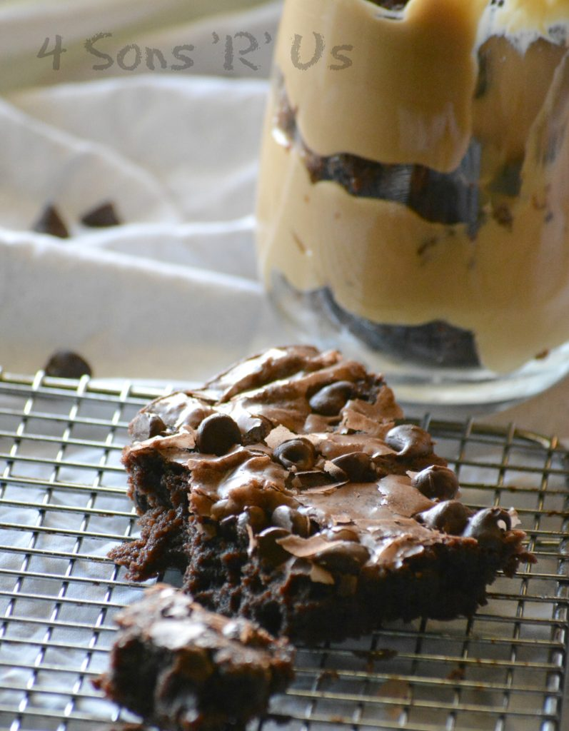 Cookie Butter Fudge Brownie Trifle 5